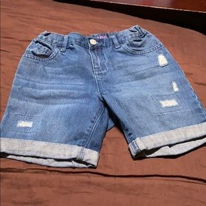 Girls Jean Shorts. EUC!
